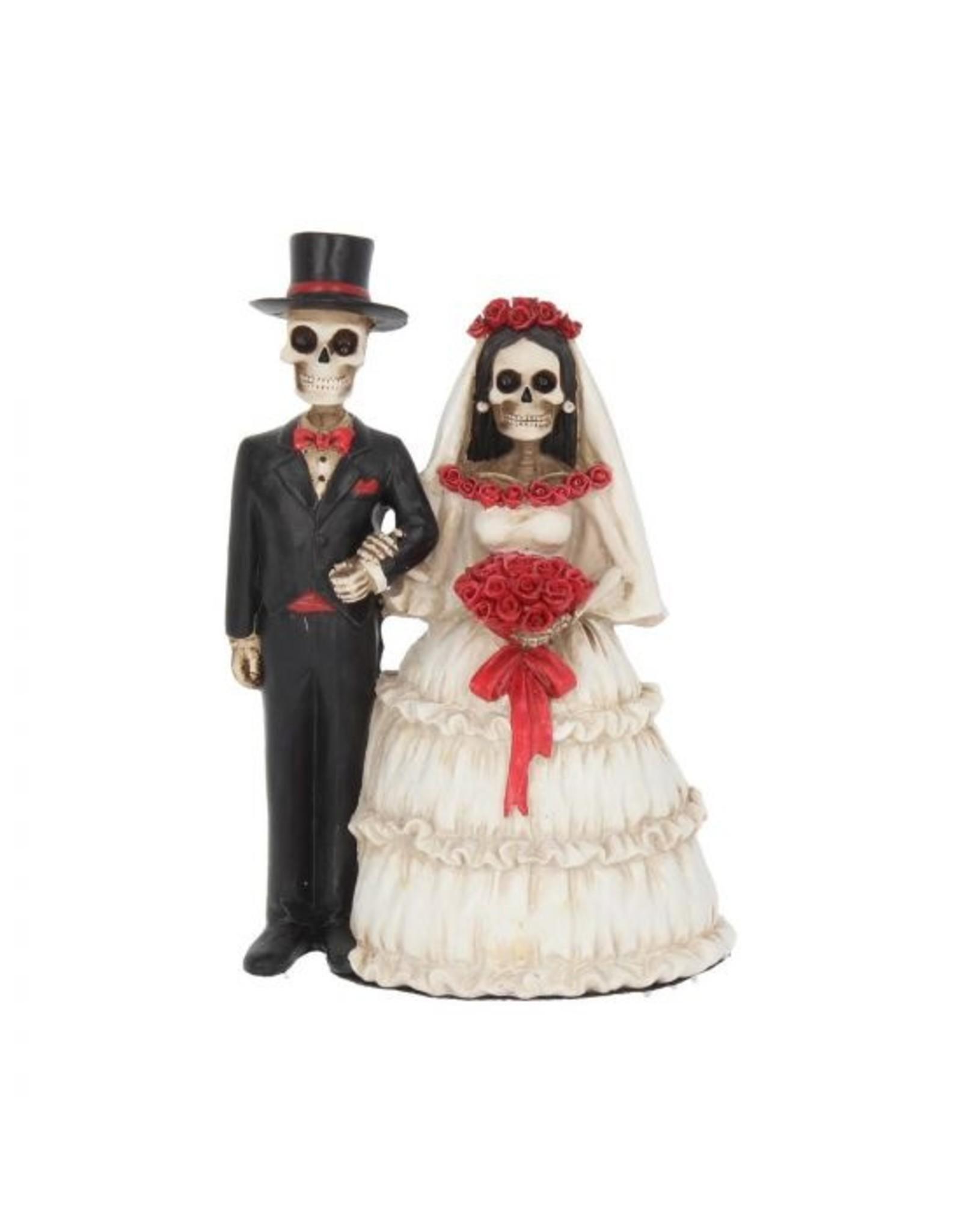 Skelett Brautpaar - Eternally Yours, 13 cm