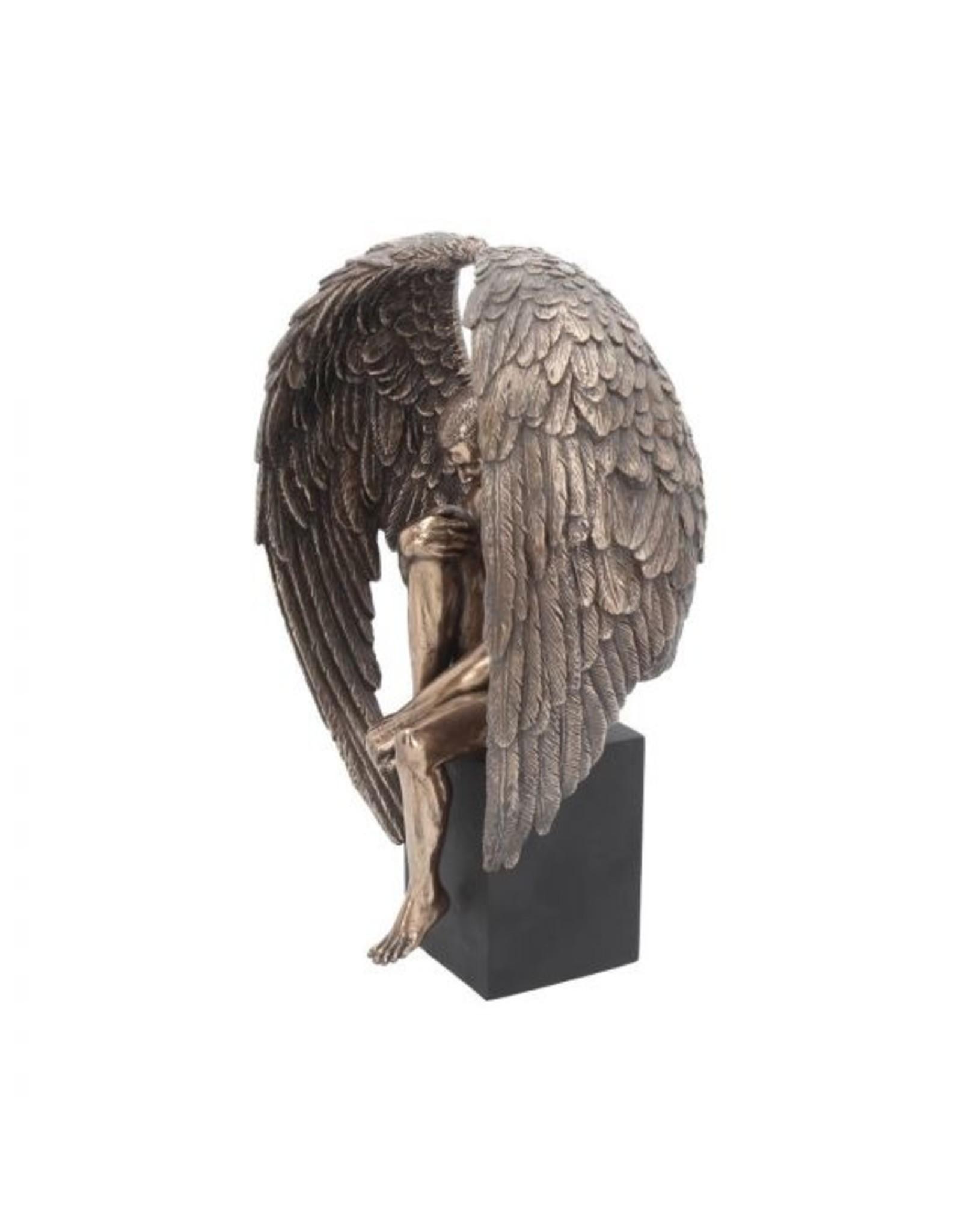"Engel Akt Figur ""Angel's Reflection"" 26 cm"