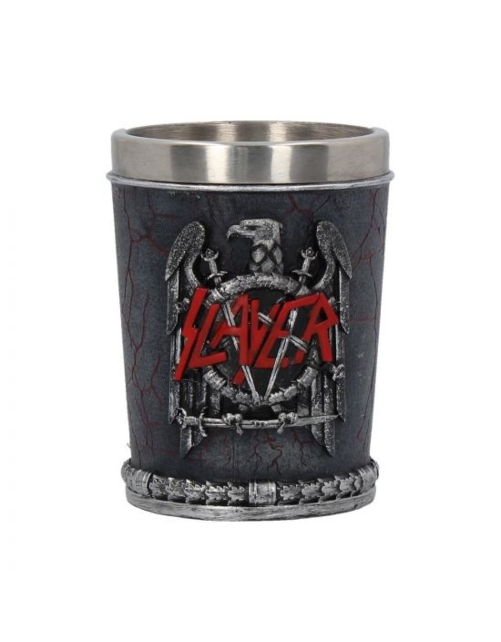 Slayer Slayer Schnapsbecher - Eagle Emblem 7 cm