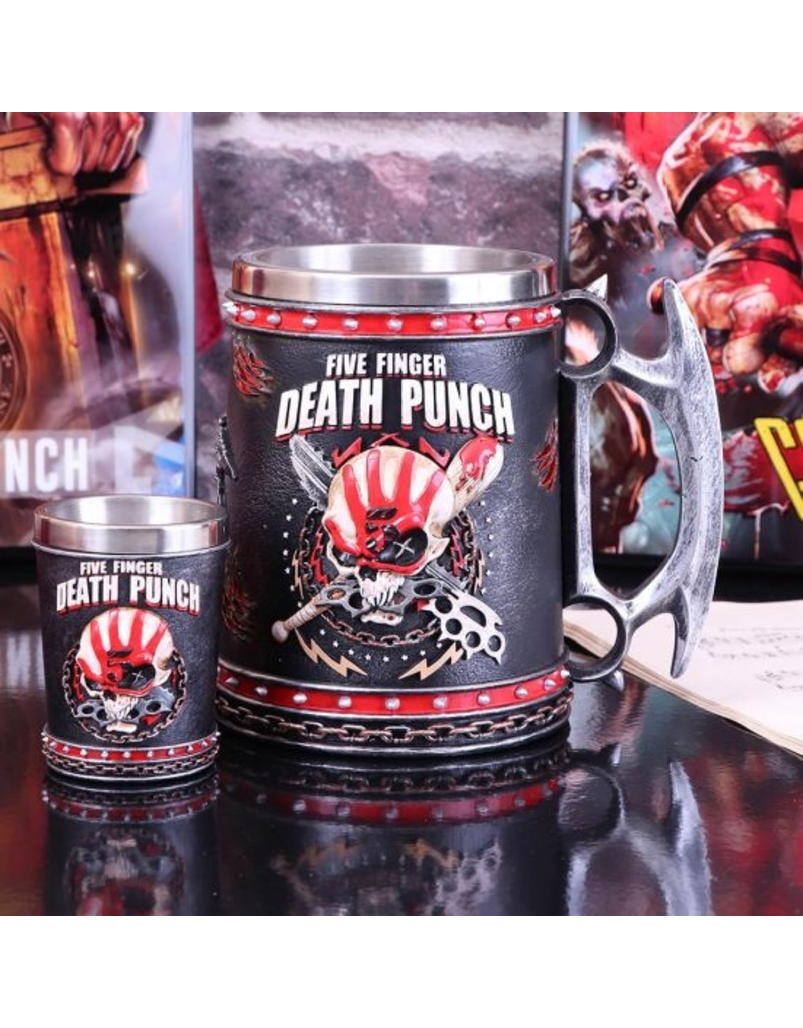 5FDP Five Finger Death Punch Krug 15 cm