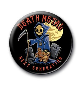 Death Metal Death Metal Button