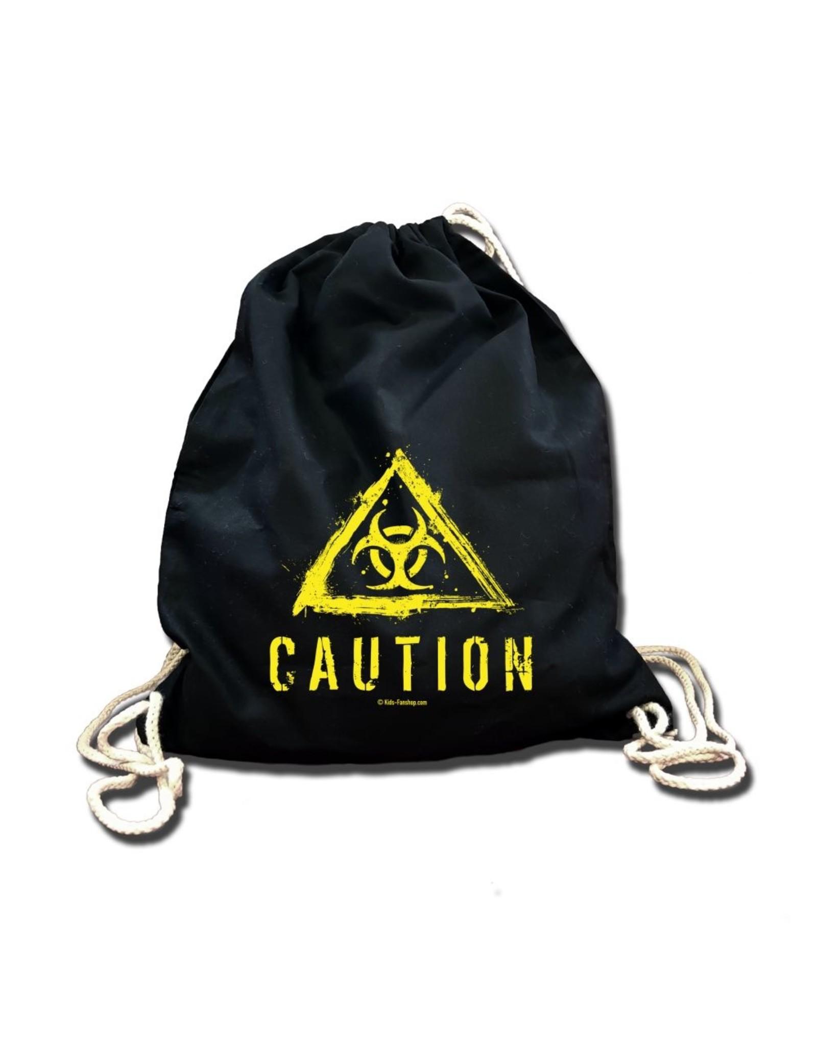 Metal Kid Caution (Biohazard)- Rucksack/Turnbeutel