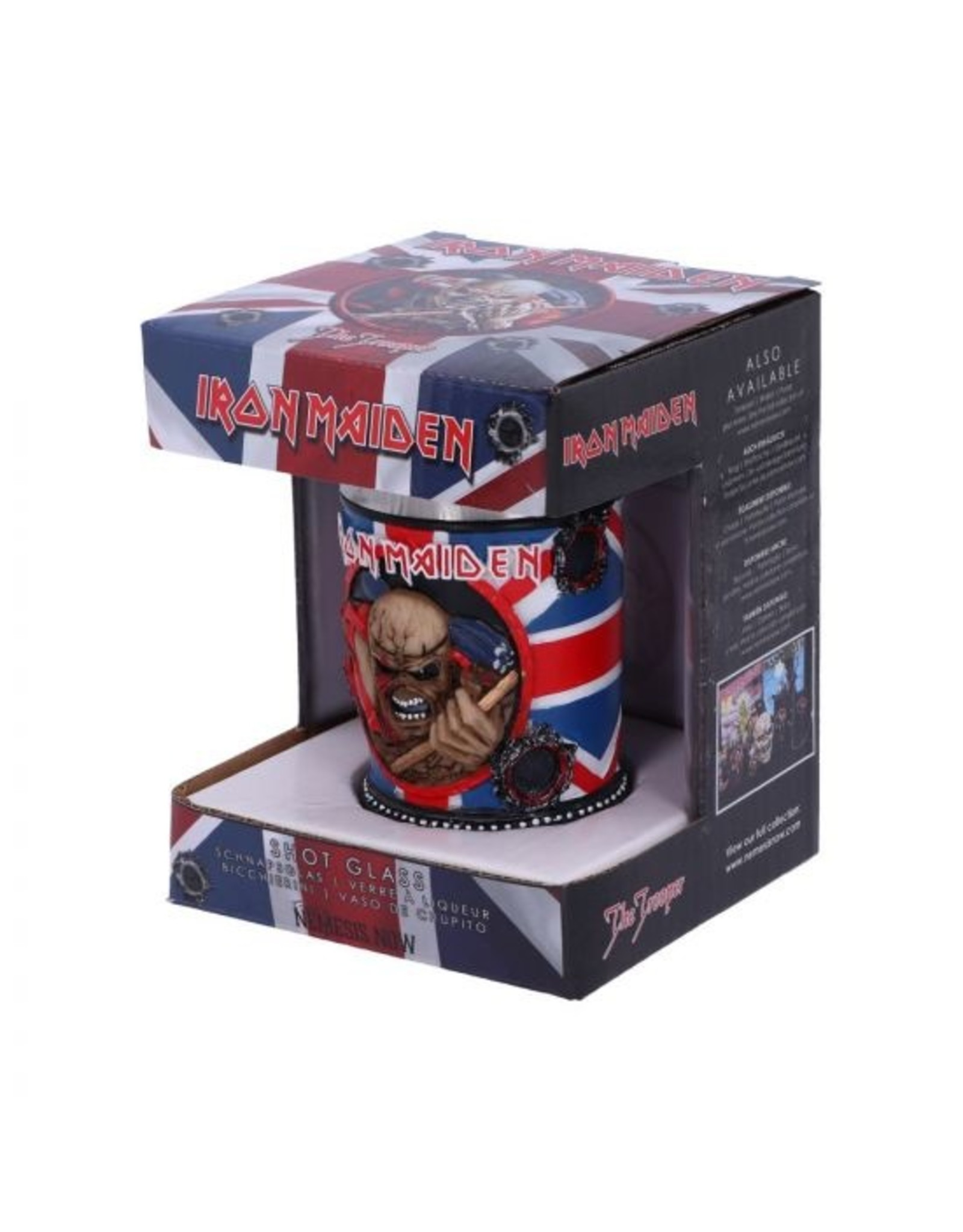 Iron Maiden Iron Maiden Schnapsbecher Trooper  7cm