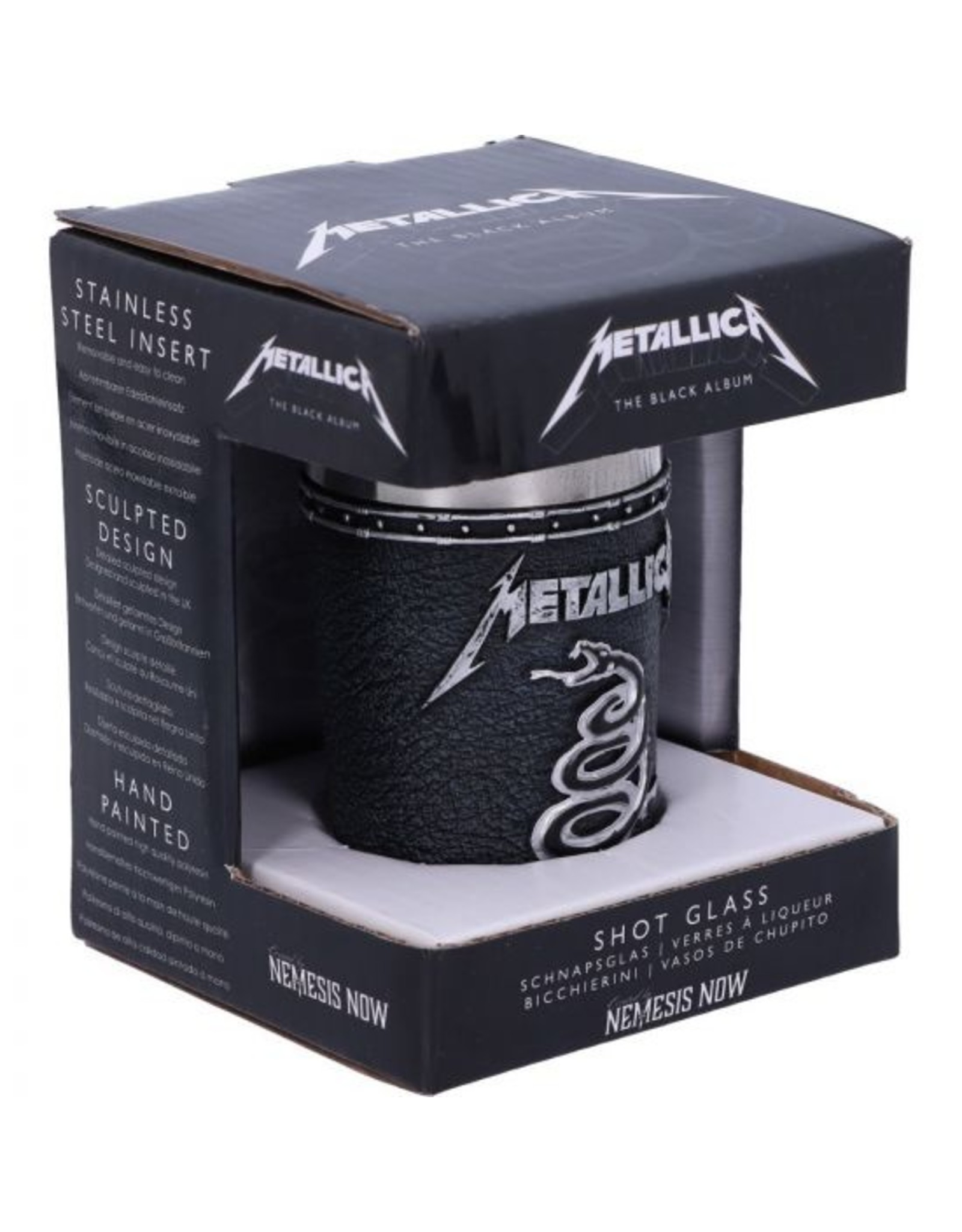 Metallica Metallica Schnapsbecher The Black Album 7,5 cm