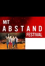 MIT ABSTAND FESTIVAL SAMSTAG, 26. Juni 2021 WIR 4