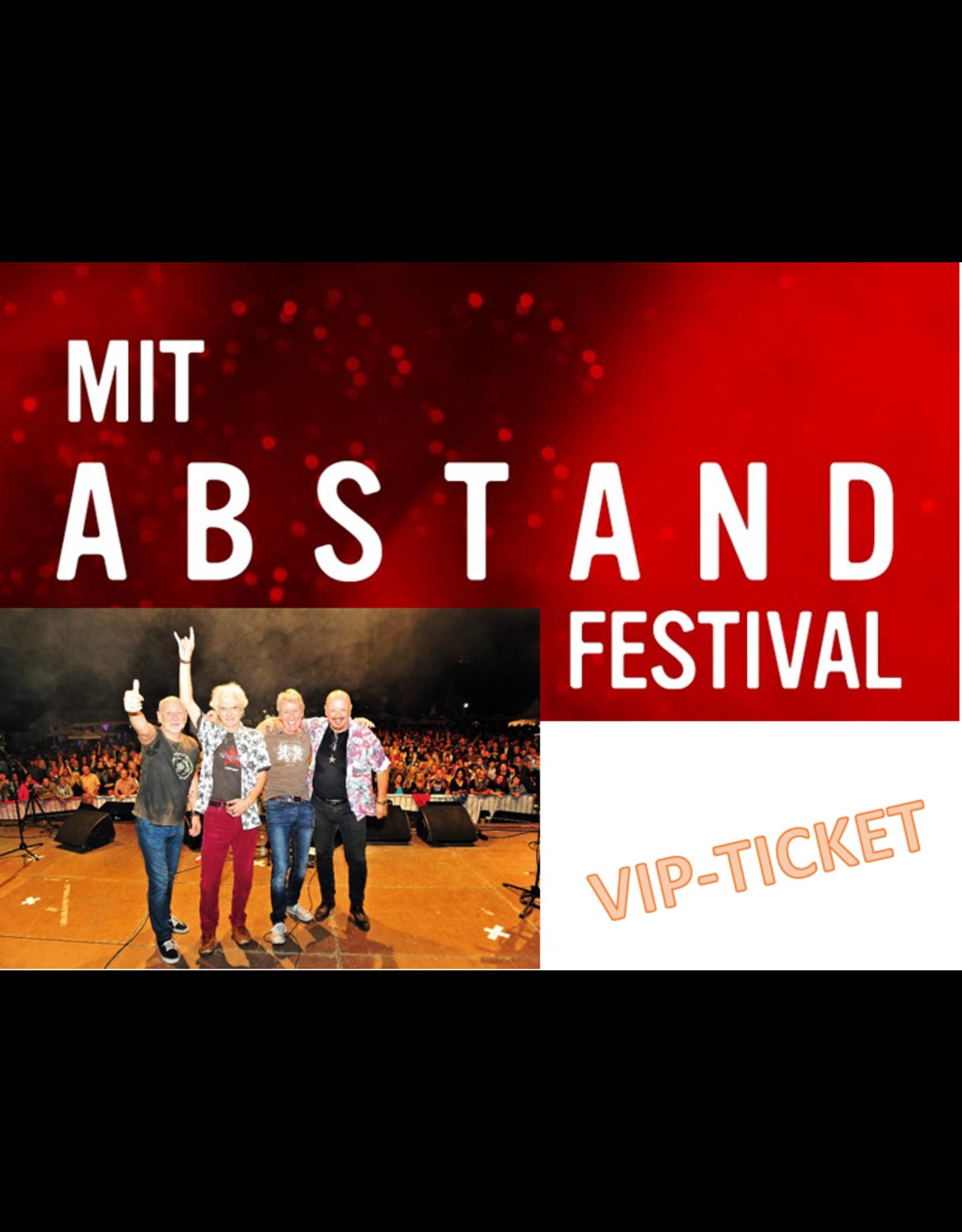MIT ABSTAND FESTIVAL SAMSTAG, 26. Juni 2021 WIR 4  VIP-TICKET