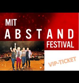 VIP-TICKET WIR 4 beim MIT ABSTAND FESTIVAL SAMSTAG, 26. Juni 2021