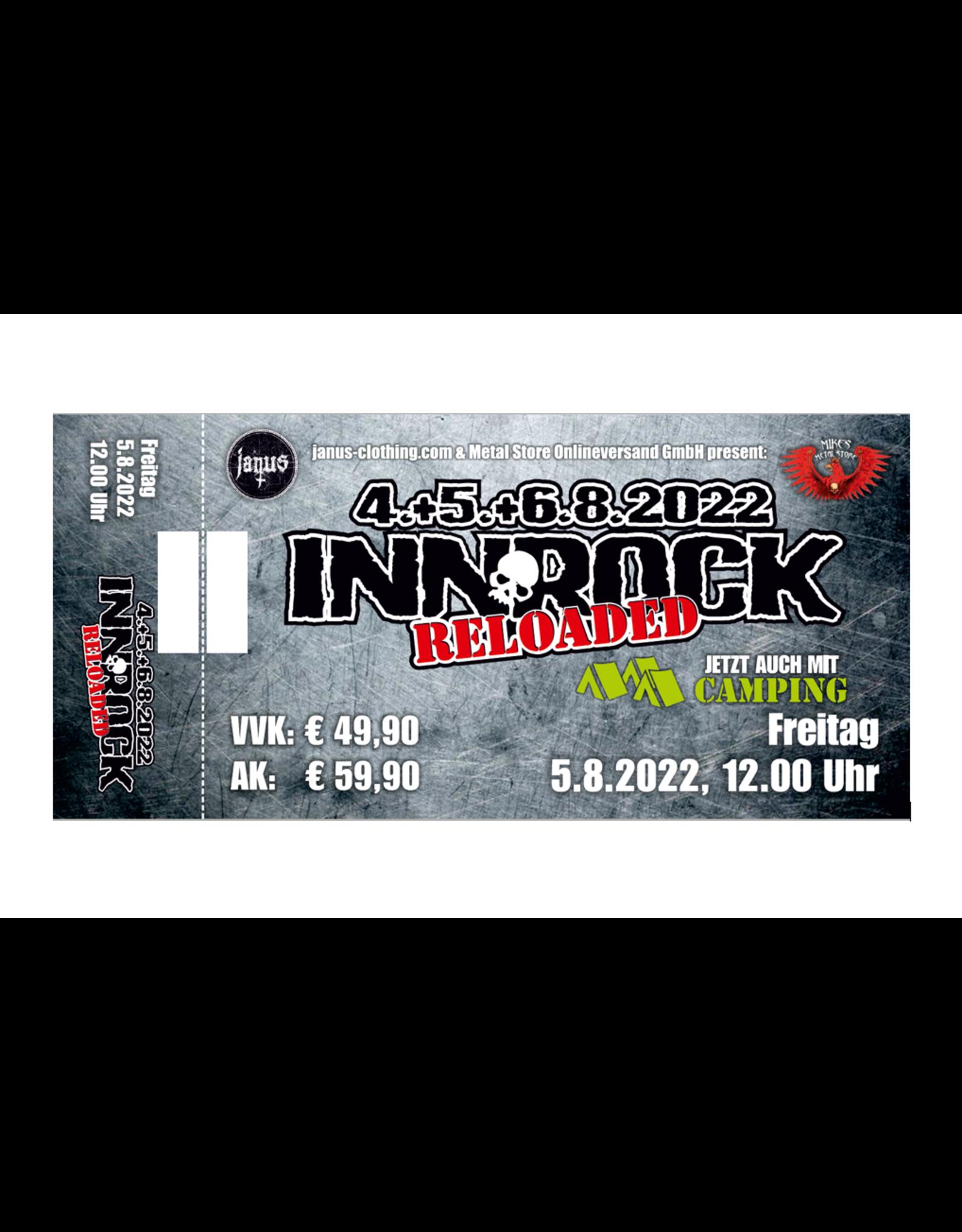 """Ticket fürs """"INNROCK reloaded"""" für Freitag, 5. August 2022"""