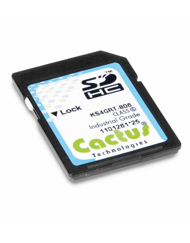 Cactus Technologies Limited KS8GRIT-806, Industrial Grade SD Card, Cactus-Tech