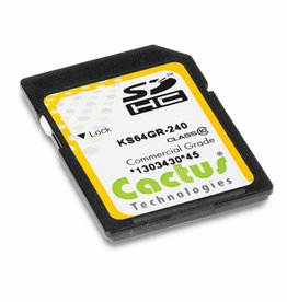 Cactus Technologies Limited KS64GRI-240 SD Card