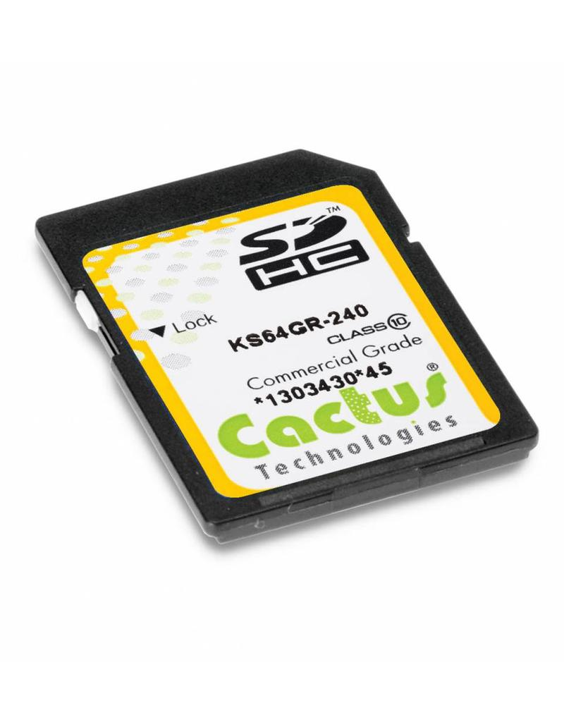 Cactus Technologies Limited KS64GR-240, SD Card MLC NAND, Cactus-Tech