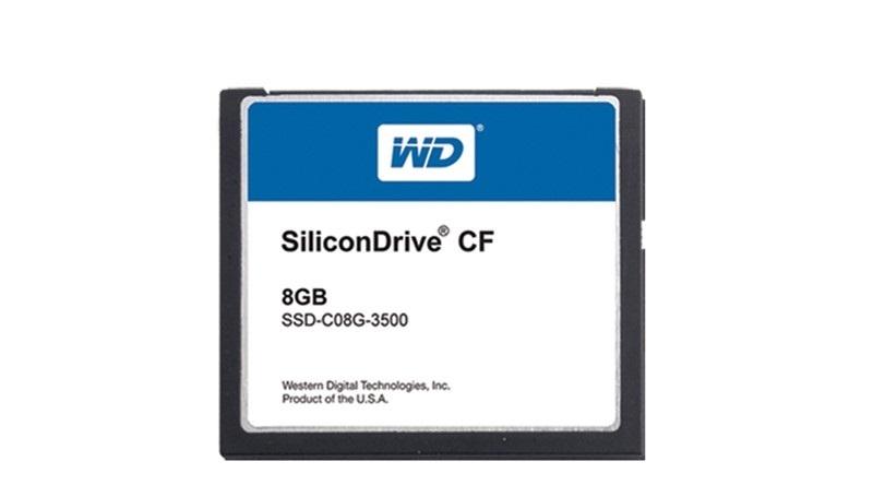 Ersatz für SiliconDrive Flash-Speicher von WD (Western Digital)