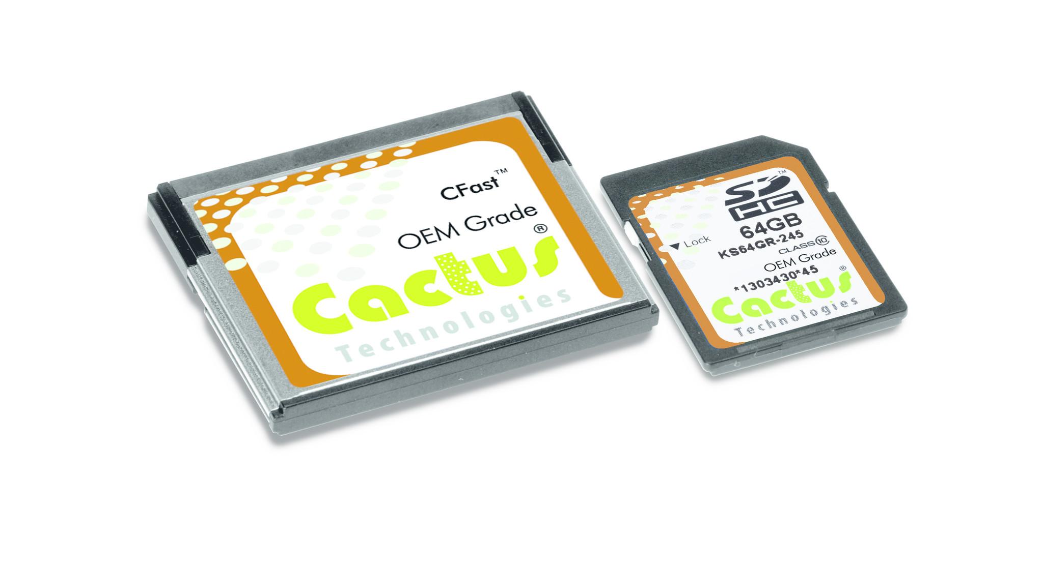 Cactus Technologies: Zuverlässige SSD-Speicher für Edge Computing