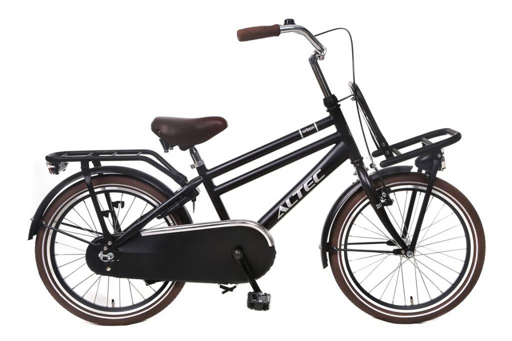 Altec Altec Urban 20 inch Transportfiets jongensfiets Zwart