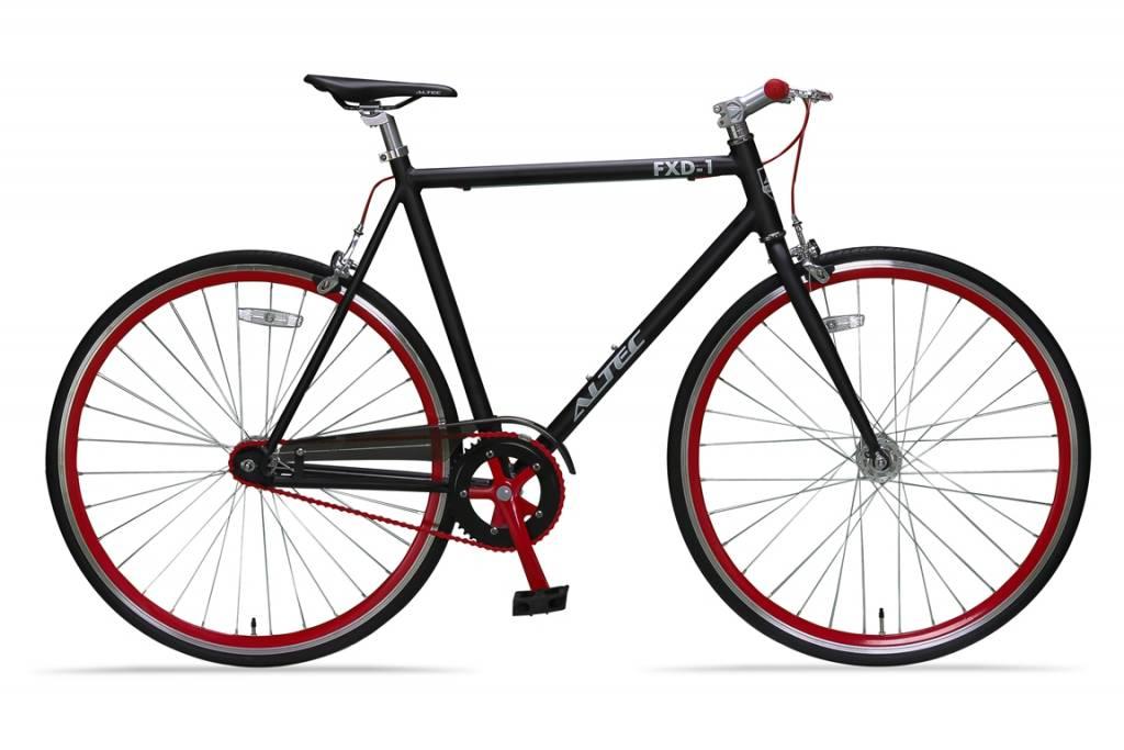 Altec Fixed Gear 28 Inch Zwartrood56cm