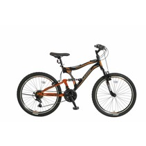 Umit Albatros 24 inch MTB Black Orange
