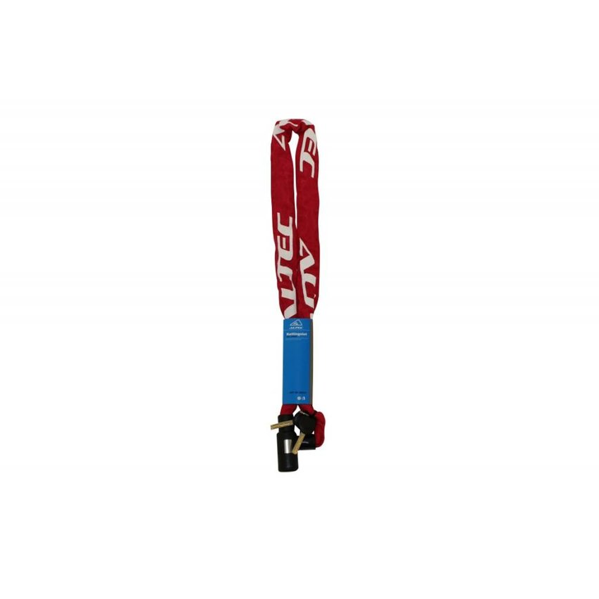 Altec Kettingslot 120cm Rood