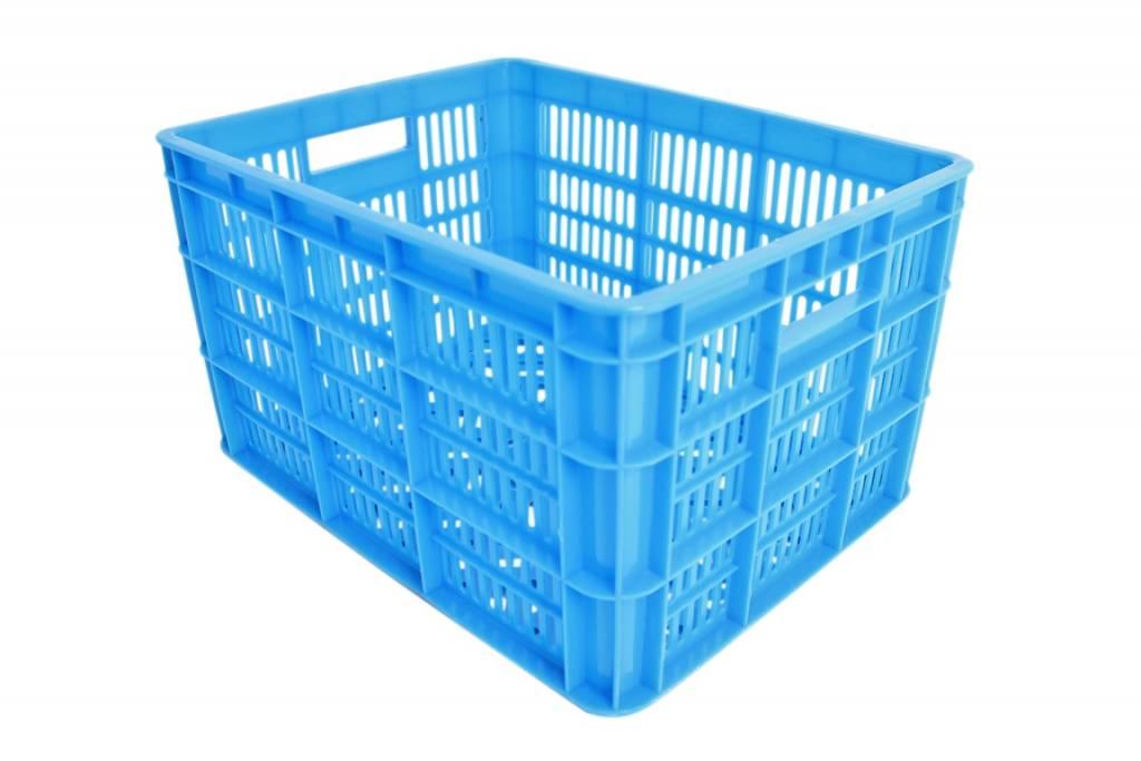 Kunststof Krat Medium 40x31x23 Blauw