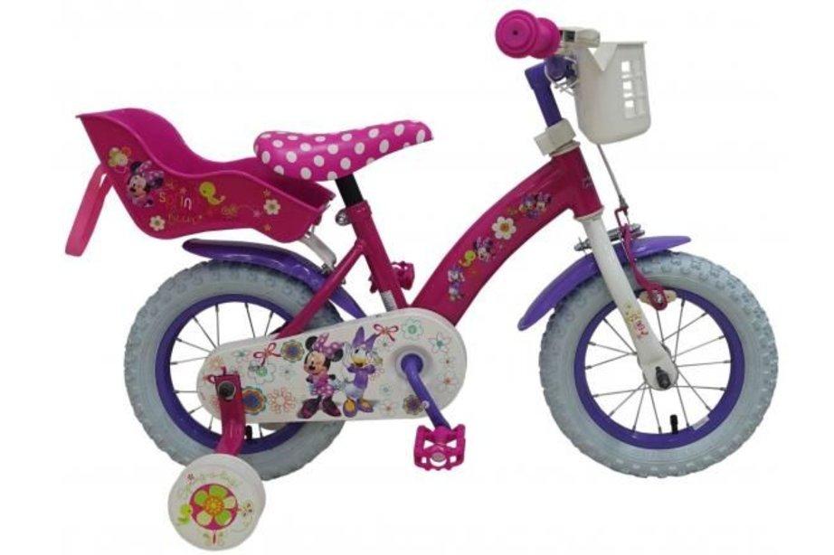 Volare Disney Minnie Bow-Tique 12 inch Meisjesfiets