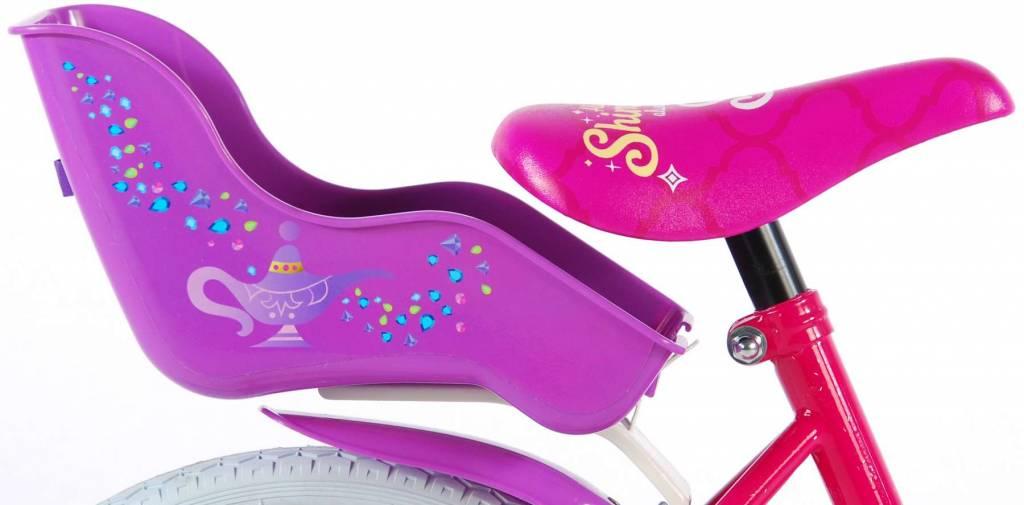 Volare Shimmer Shine 16 Inch Meisjesfiets Terugtraprem