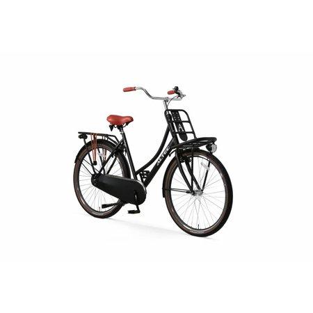 Altec Altec Urban transportfiets 28 inch 57cm Zwart