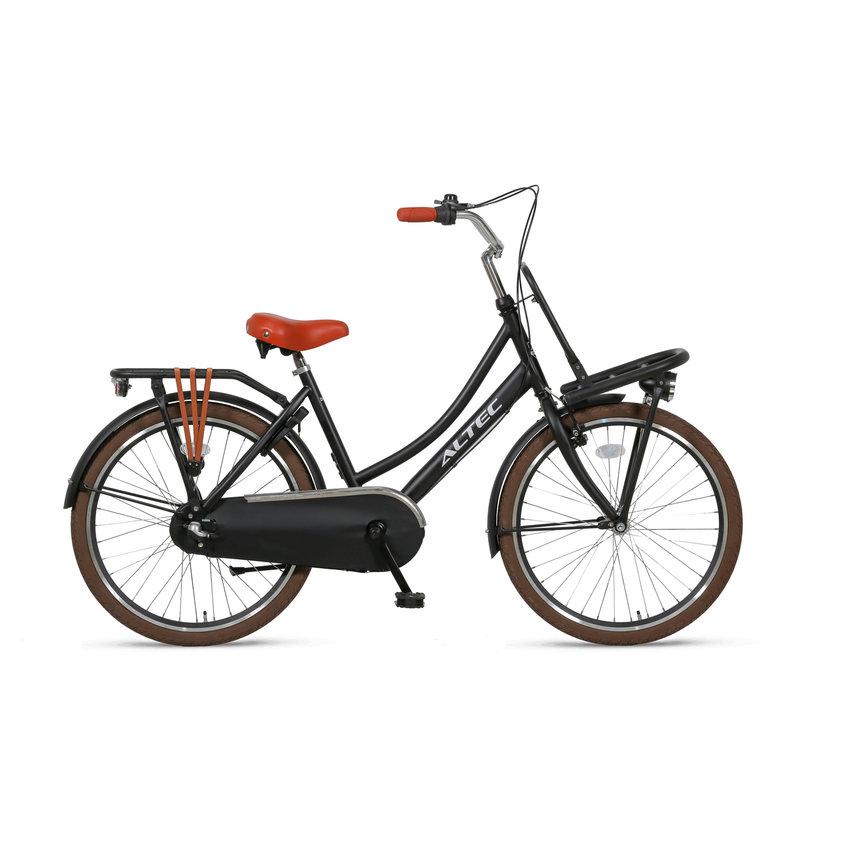 Altec Dutch Transportfiets 24 inch Zwart