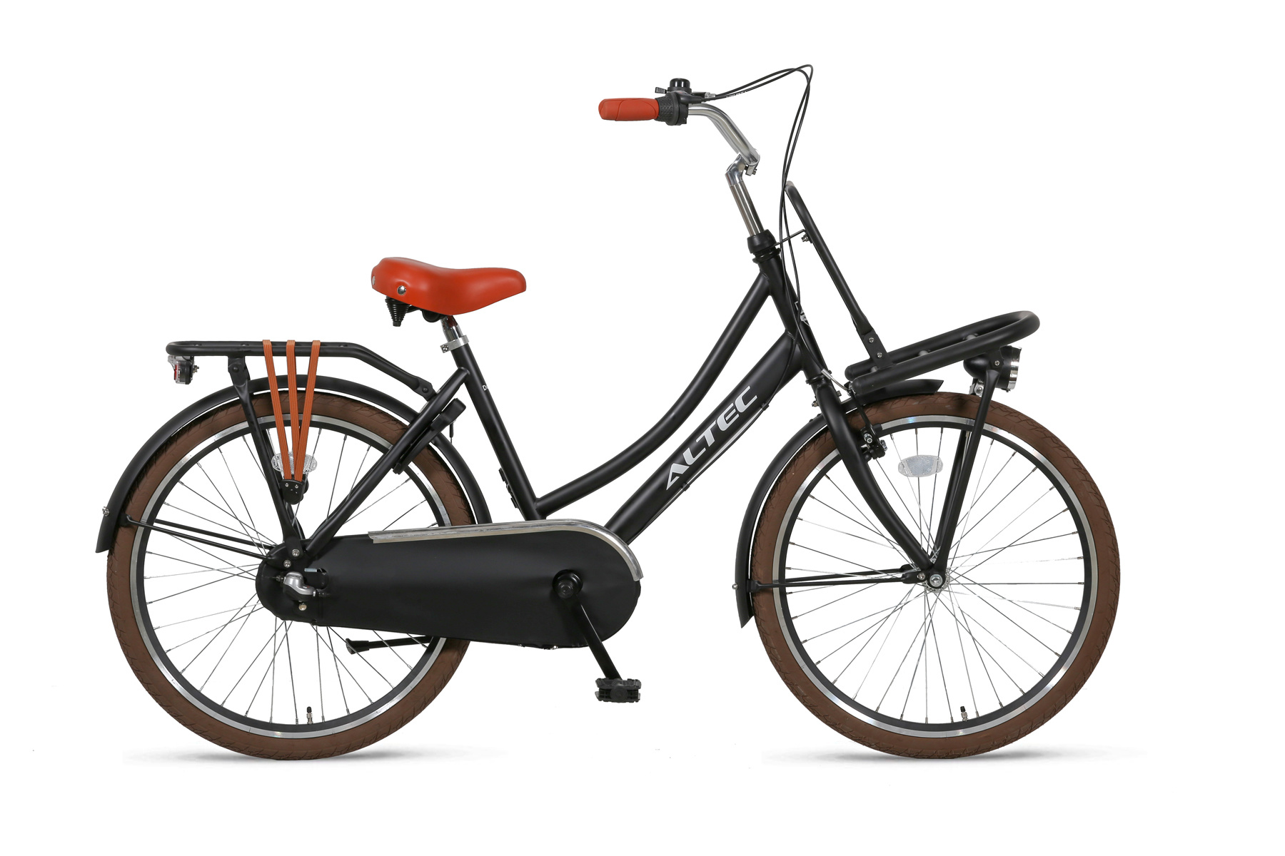 Altec Altec Dutch Transportfiets 24 inch Zwart