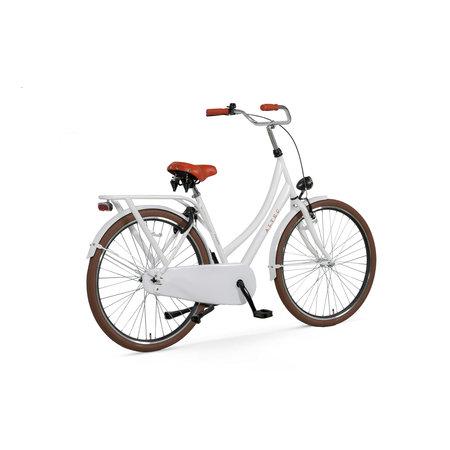 Altec London Deluxe Omafiets 28 inch 52cm  Sparkle White