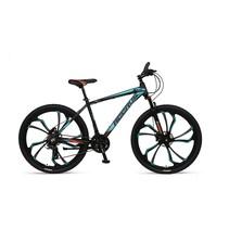 Umit Accrue 27.5 inch Mountainbike Black Turquoise Orange 21v