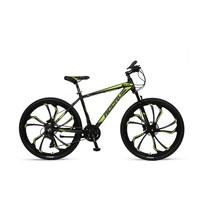 Umit Accrue 27.5 inch Mountainbike Black Lime 21v