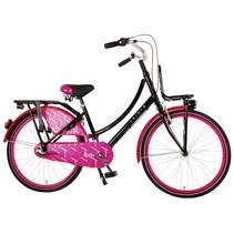 Volare Dolce Shimano 24 inch 3v meisjesfiets zwart roze