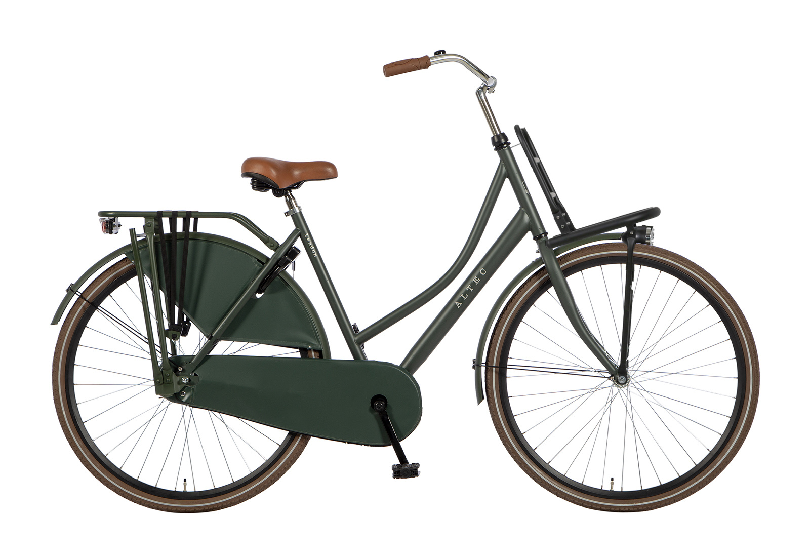 Altec Altec London DeLuxe Omafiets 28 inch 55cm Army Green
