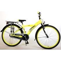 Volare Thombike City  26 inch jongensfiets Neon Yellow Black 3v