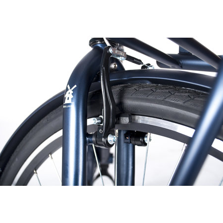 Crown Holland 28 inch transportfiets 53cm Jeans Blue