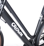 Crown New York 28 inch Damesfiets 55cm 7v Zwart