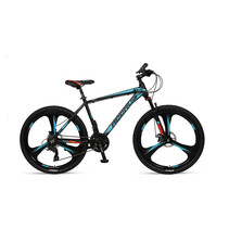 Umit Accrue  26 inch Mountainbike 2D Black Turquoise Orange 21v