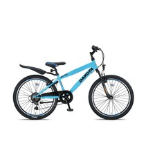 Altec Dakota 24 inch Jongensfiets 7 speed Neon Blue