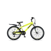 Altec Dakota 24 inch Jongensfiets 7speed Neon Lime