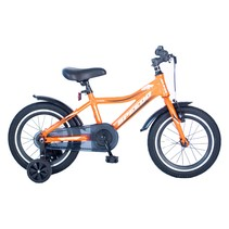 Speedo 16 inch Kinderfiets Jongensfiets Mat Orange