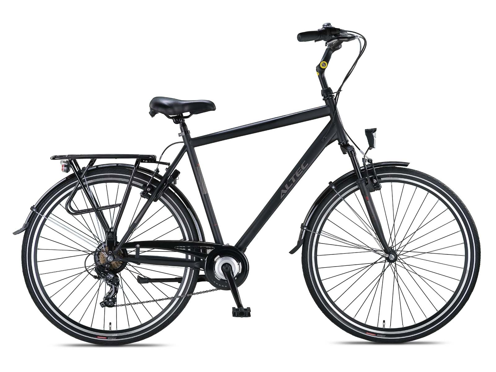 Altec Verona 28 inch Herenfiets 52cm Night Black