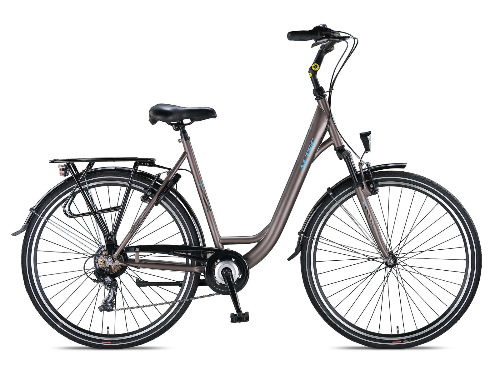 Altec Verona 28 inch Damesfiets 49cm 7v Warm Grey