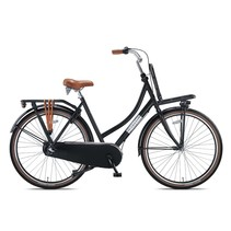 Altec Vintage Transportfiets 50cm 28 inch Zwart 3v
