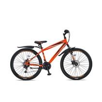 Umit Faster MTB  27,5 inch 2D  41cm 21v  Zwart Oranje