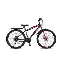 Umit Faster MTB  27,5 inch 2D  41cm 21v  Zwart Rood