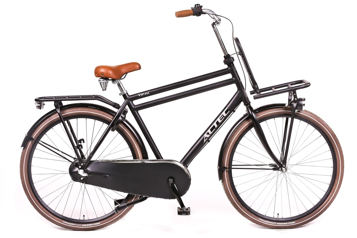 Altec Vintage Transportfiets 28 inch 61cm 3v Zwart
