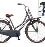 Crown Holland 28 inch transportfiets 53cm Donker Grijs