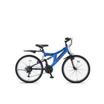 Umit Blackmount Mountainbike 24 inch Zwart Blauw