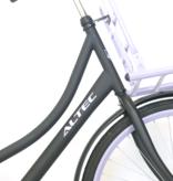 Altec Altec Classic 28 inch Transportfiets 55cm Zwart Paars