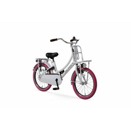 Altec Altec Urban Transportfiets 20 inch Pearl White