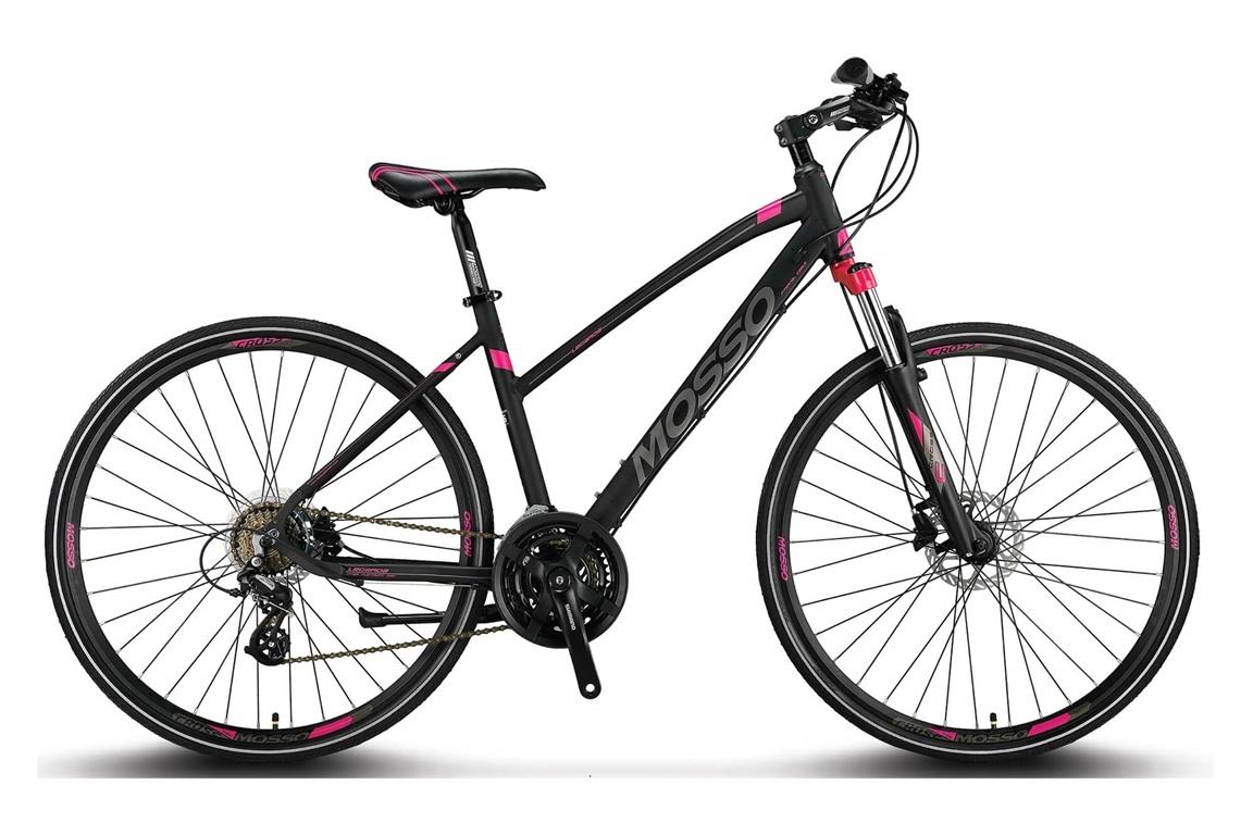 Altec Mosso Legarda MTB 28 inch 24v  41cm Zwart-Roze